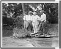 Henry Ford fishing, with Harvey Firestone, Christian, and Thomas Edison LCCN92503798.jpg