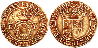 English coin introduced in 1526