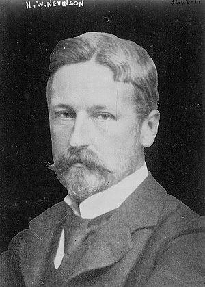 Henry Nevinson - Henry Woodd Nevinson (1856-1941) circa 1915