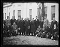 Herbert Hoover and group outside White House, Washington, D.C. LCCN2016889803.jpg
