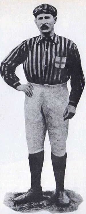A.C. Milan - Herbert Kilpin, the club's first captain and one of its founding members.