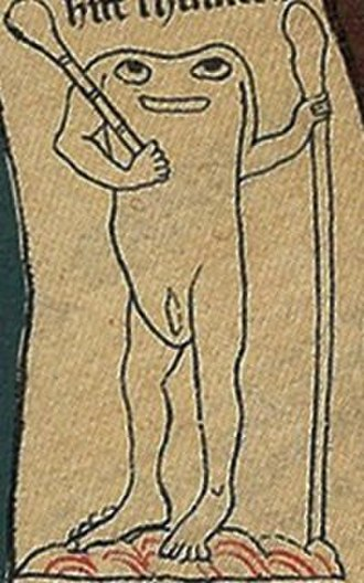 Headless men - 2) People with eyes at the shoulders.