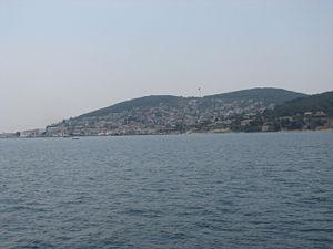Heybeliada - View from the Sea of Marmara