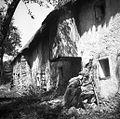 """Hiša od zadaj (stranišče v nadstropju hiše), Vrh, """"Jerovca""""1954.jpg"""