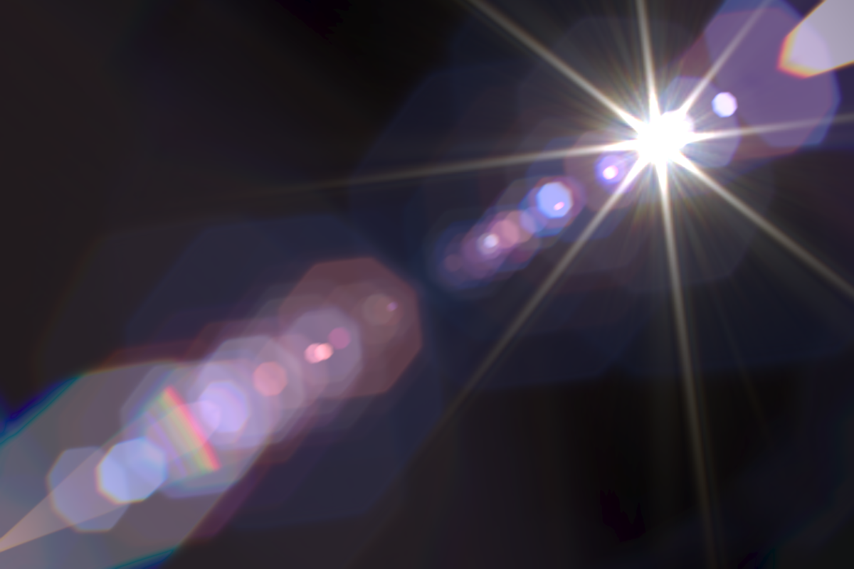 File High Quality Lens Flare Rendering Png Wikimedia Commons