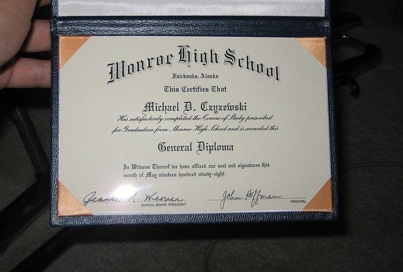 wiki secondary school certificate