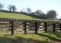 Hillside hamlet of Crossway - geograph.org.uk - 673196.jpg