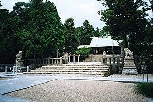 Hirota Shrine - Main hall
