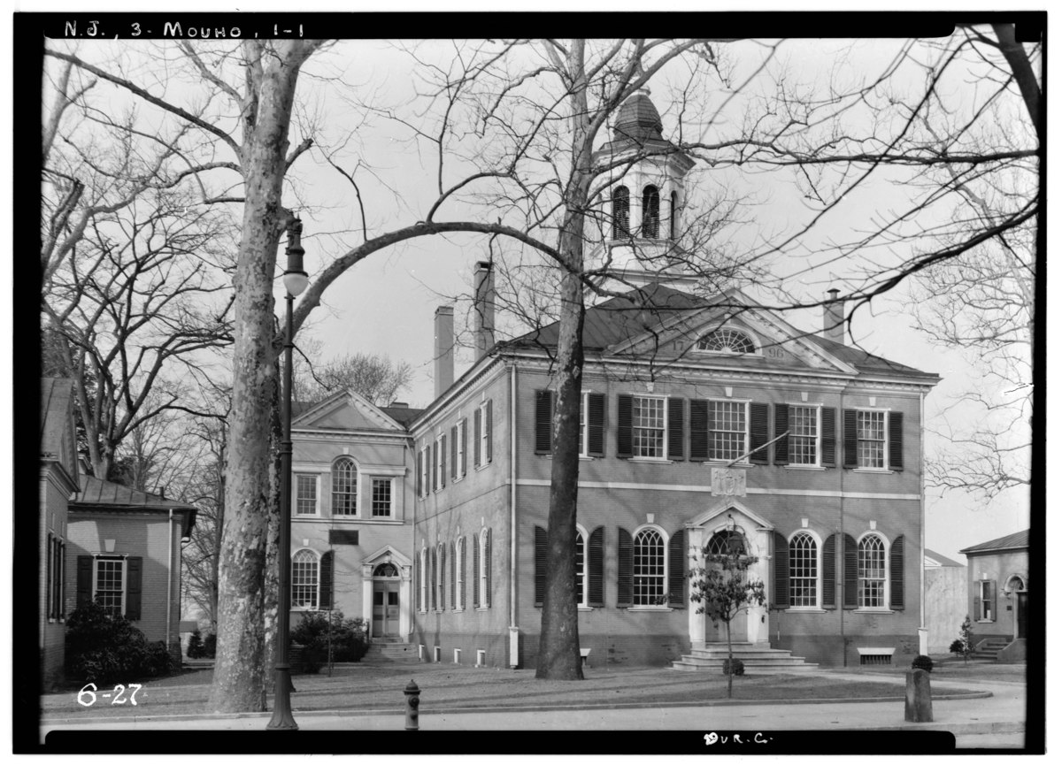 Historic American Buildings Survey New Jersey