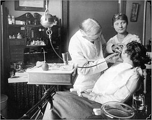 29px Dental practice 1915 in the USA