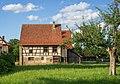 Hohenloher Freilandmuseum - Baugruppe Hohenloher Dorf - Handwerkerhaus aus Oberrot - Hinterhaus von SW.jpg