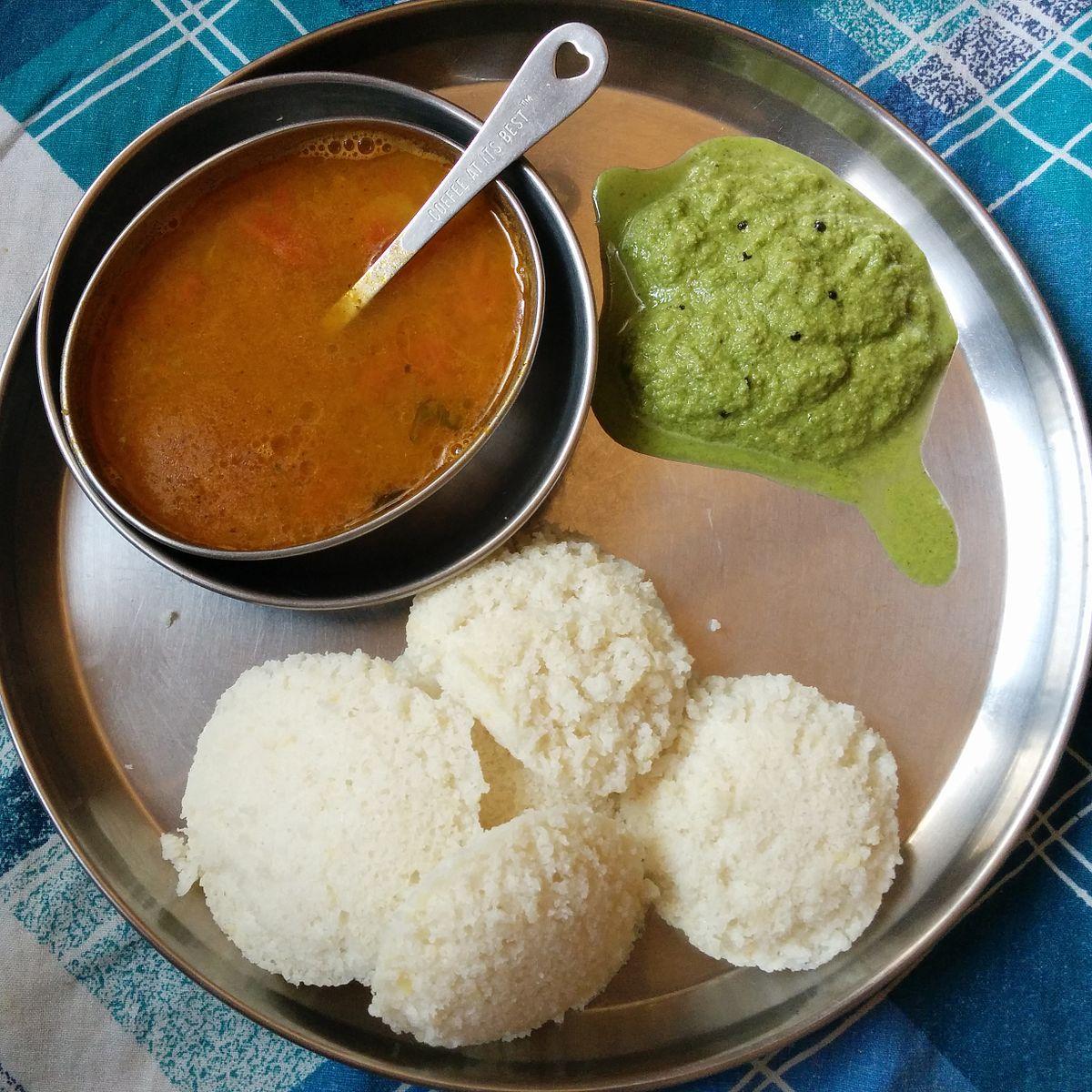 idli ? wikipedia - Tamilische Küche