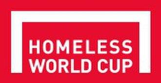 Homeless World Cup - Image: Homeless World Cup logo