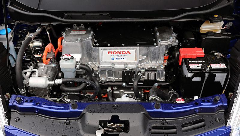 File:Honda Fit EV engine (blue).jpg