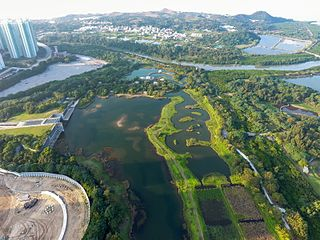 Hong Kong Wetland Park nature reserve in Peoples Republic of China