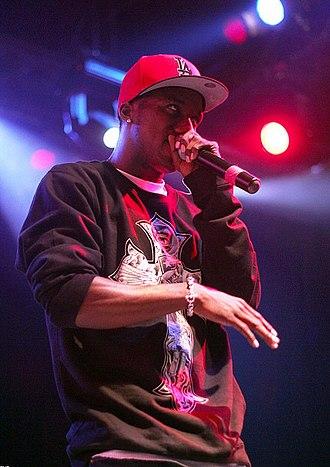 Hopsin - Hopsin performing in October 2013