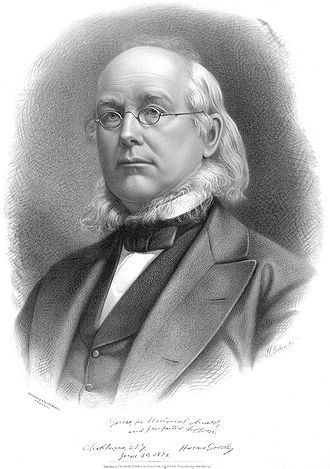 Horace Greeley - Image: Horace Greeley Baker