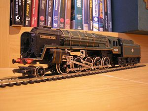 Hornby Railways - A Hornby model of a BR standard class 9F