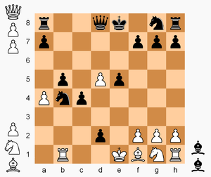 Hostage Chess - Image: Hostage Chess, Parr vs. Pritchard