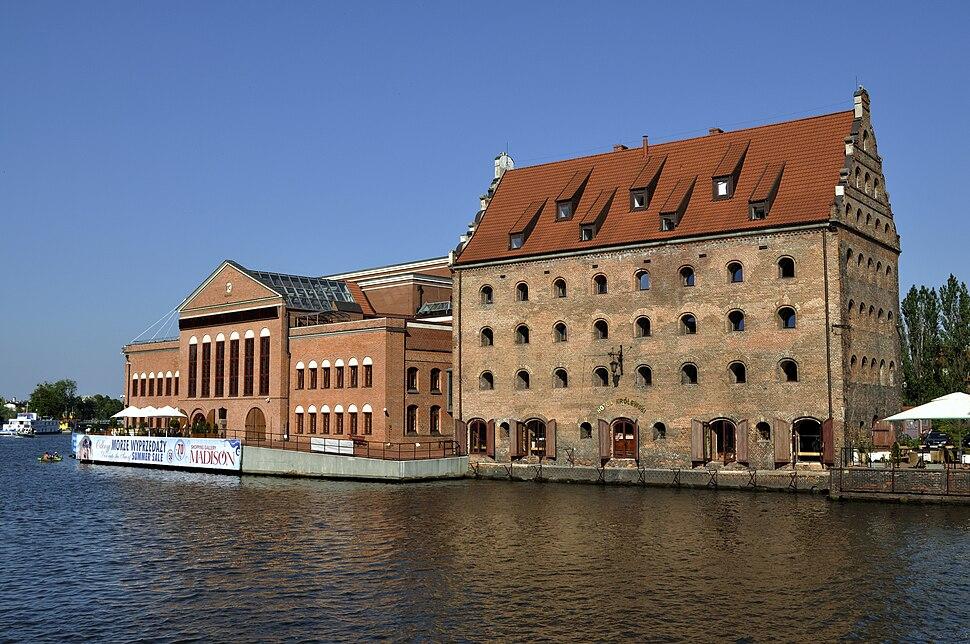 Hotel Królewski and Filharmonia Bałtycka Gdańsk