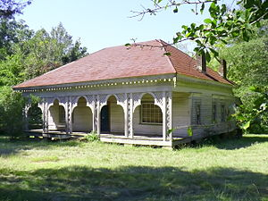 McKinley, Alabama - A house at McKinley in 2008