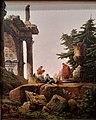 Hubert Robert - Arc de triomphe en ruines avec joueurs de cartes - 1780 - Lyon.jpg