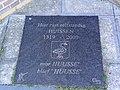 Huissen (Lingewaard) gedenksteen Hier rust zelfstandig Huissen.JPG