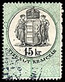 Hungary 1876 document revenue 15kr.jpg