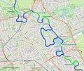 Hunze rond stad Streetmap 1.jpg