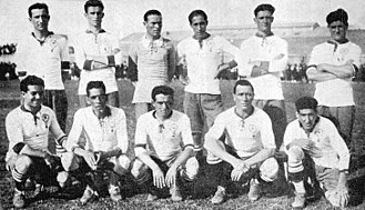 Club Atlético Huracán - The 1921 team that won the first championship.