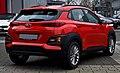 Hyundai Kona 1.0 T-GDI Trend – Heckansicht, 24. Dezember 2017, Düsseldorf.jpg