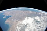 ISS-58 Argentina, Chile and the Andes mountains.jpg