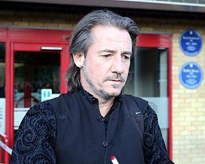 Ian Bishop (footballer) - Bishop at the Boleyn Ground, April 2014