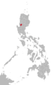 Ibaloi language map.png