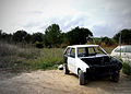 Ibiza 2006 - Day 5 Trashed car (272505320).jpg