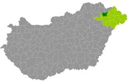 ibrány térkép Ibrány District   Wikipedia ibrány térkép