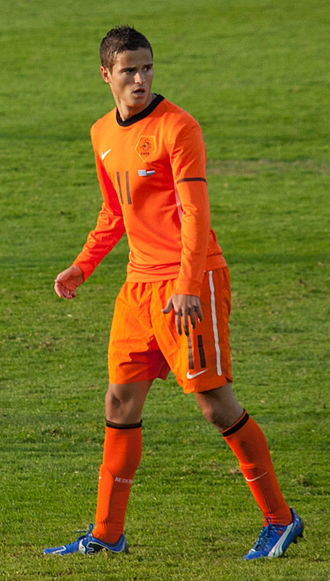 Ibrahim Afellay - Ibrahim Afellay with the Netherlands national football team in 2011