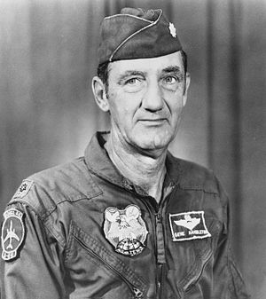"English: Lt. Col. Icheal ""Gene"" Hamb..."