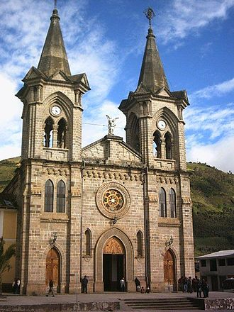 El Ángel, Ecuador - Church of El Angel
