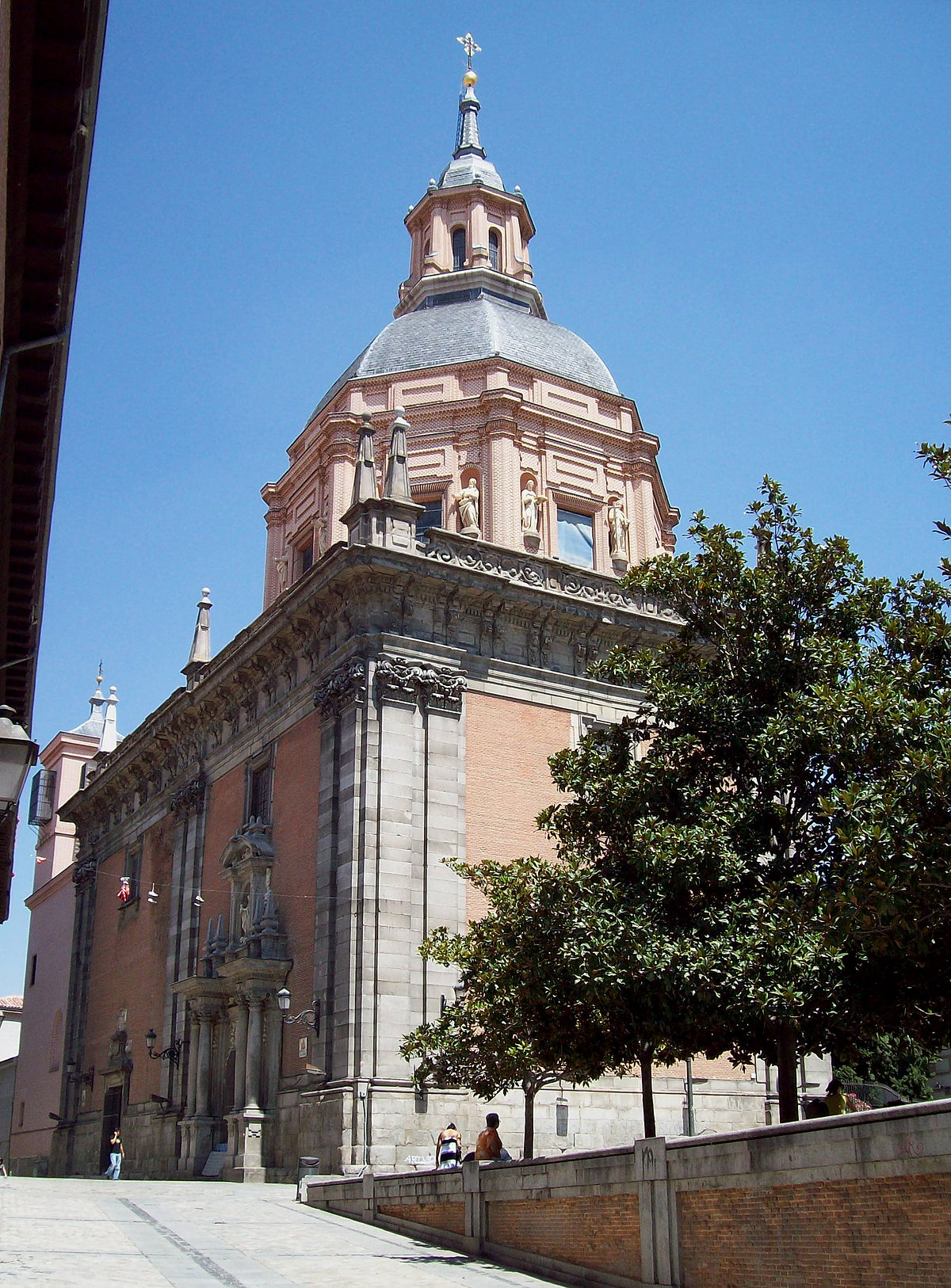 Church of San Andrés (Madrid) - Wikipedia