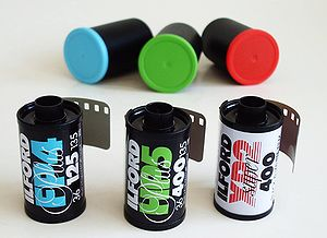 Ilford Photo - Some Ilford black-and-white films