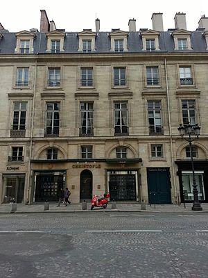 Musée Bouilhet-Christofle - Image: Immeuble, 9 rue Royale, Paris 2013
