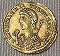 Impero d'occidente, valentiniano III, solido in oro (roma), 455.JPG