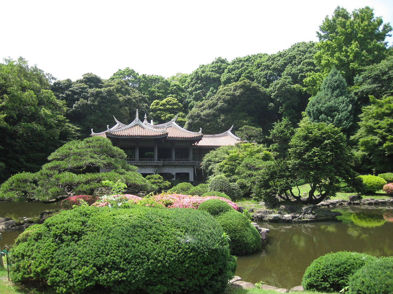 Wow, check out this beautiful Shinjuku Gyoen National Garden in Japan : Place...