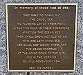 In memory of those lost at sea Memorial plaque, Cotton Tree, Queensland.jpg