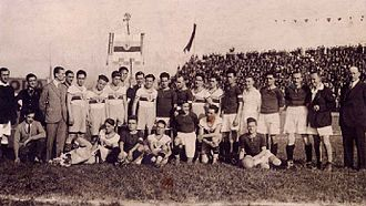 Stadio Filadelfia - The teams of Torino and Fortitudo Roma that clashed in the opening match