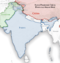 India Pakistan China Disputed Areas Map.png