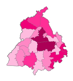 India Punjab COVID-19 map.png