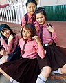 Indian school girls at Hnahthial 01.jpg