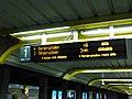 Information board at Grønland Station.jpg